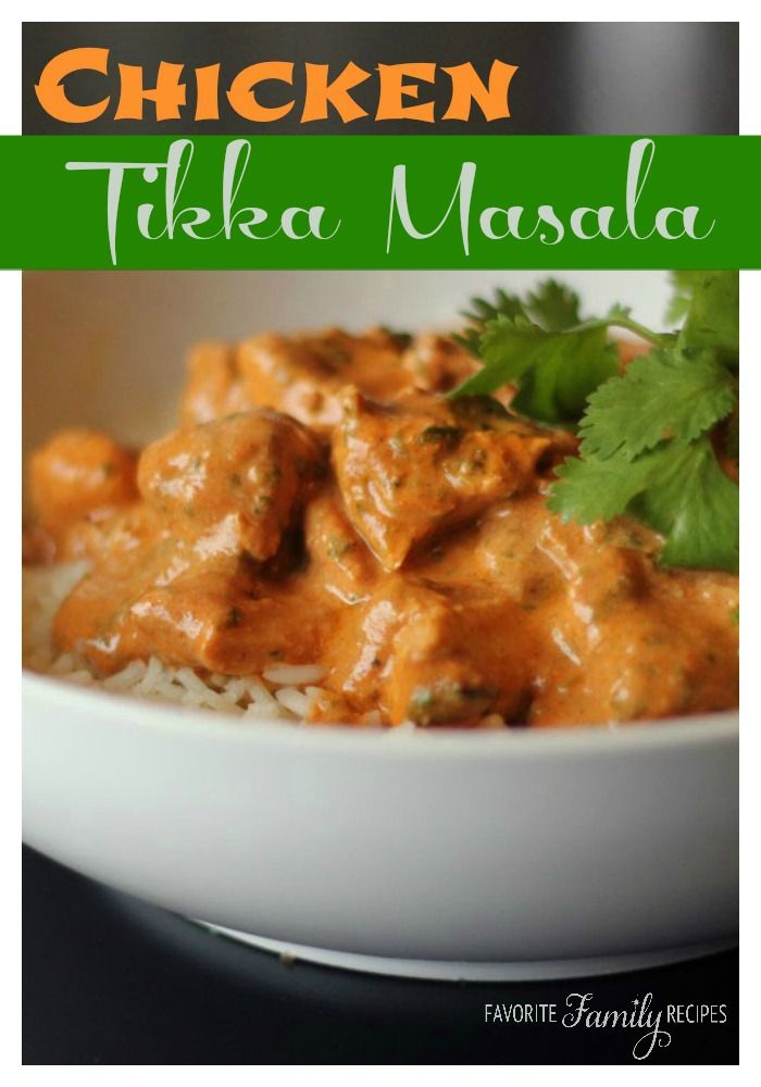 What a great Chicken Tikka Masala recipe! This chicken recipe is one of my favorite Indian dishes.