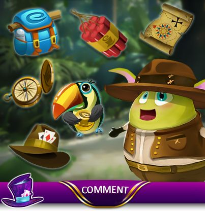 Can you help Explorer Moji find the odd item out  Leave your answer below