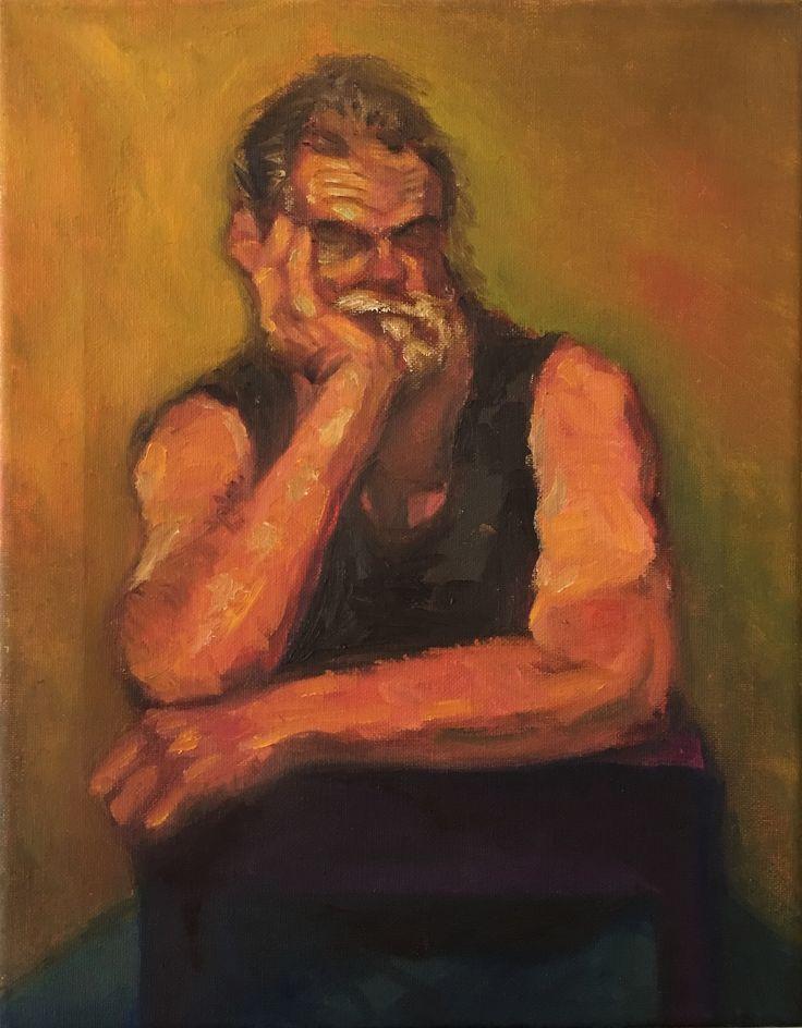 P #13-1. 11x14. Oil on Canvas. 2017