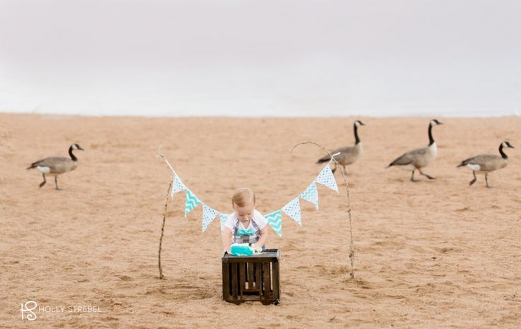 A Cake Smash Session on the beach! {Cake Smash Photographer- Denver, CO} » Denver and Golden Family Photographer- Holly Strebel Photography