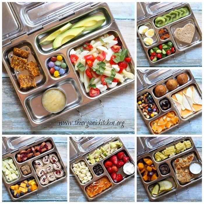 realfood school lunches ~ preschool friendly!