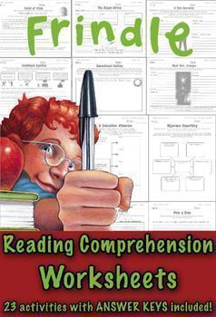 This packet will not only assess the students' comprehension of each chapter, but goes on to reinforce the story elements, provides practice with various reading skills, and examines the author's craft. Art activities included too. Your students will get