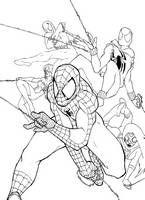 dla chłopców kolorowanki Spider Man numer  7