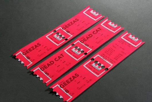 Attractive Ticket Designs