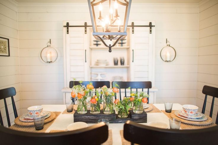 The 20 best images about shiplap on pinterest seasons for Joanna gaines dining room designs