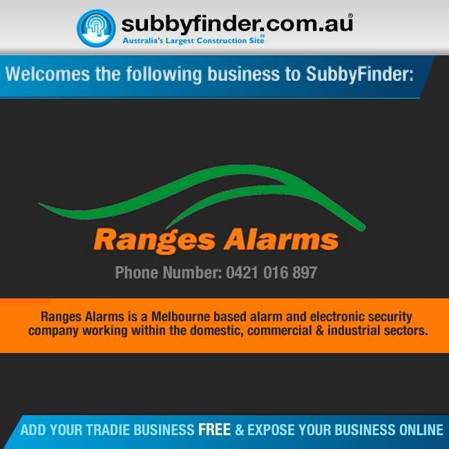 It's FREE to register your Tradie business on Subbyfinder.com.au Building your SubbyFinder profile is quick and easy. Fill out your industry experiences, industry type and any other forms of expertise in your industry #subbyfinder #tradie #tradies #Rangesalarms