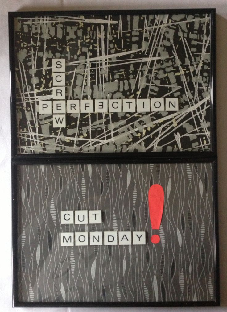 MADE BY ME.... Made of old Wall Paper from the 50's and scrabble bricks