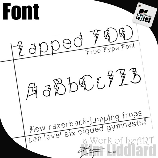 Free Casino Hand Font