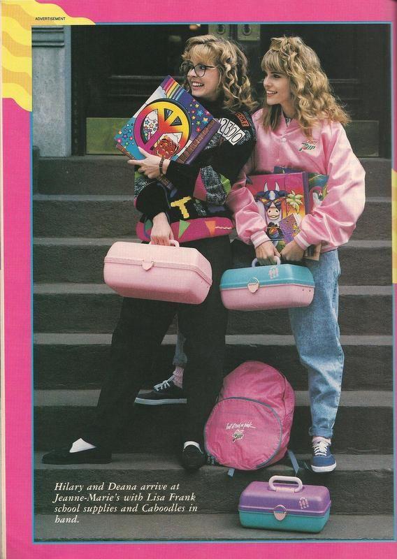 Teen Magazine August 1989 Advertorial