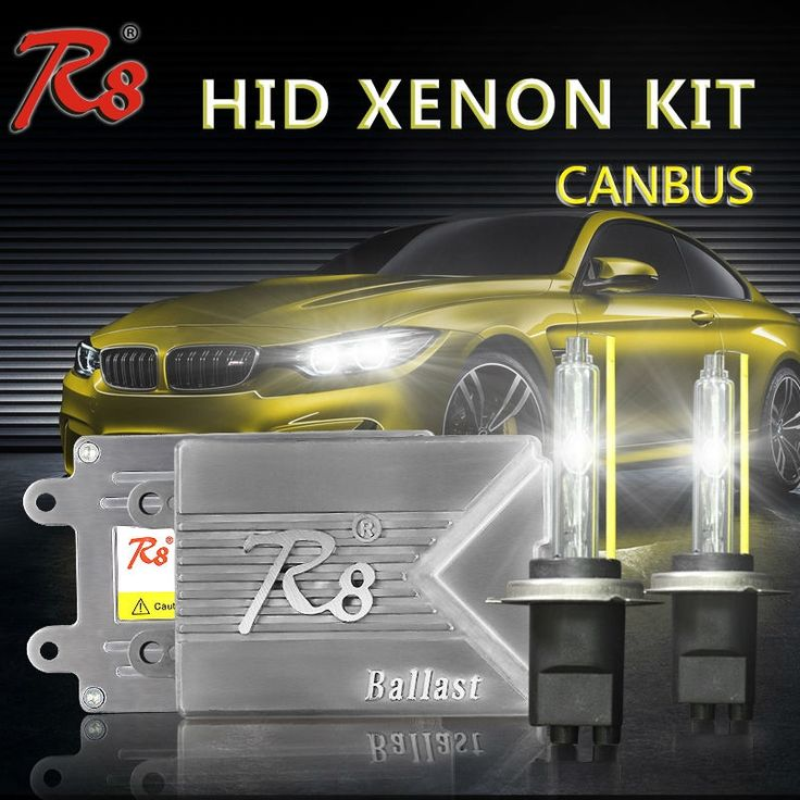 50.00$  Watch now - R8 Brand Premium Quality Car HID Kit H1 H7 H8 H11 HB3 HB4 9012 Xenon Light Lamps 5500K Slim Canbus Ballast No Error For BMW Audi  #magazineonline