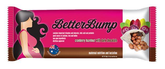 BetterBump Bar: Cranberry Hazelnut with Dark Chocolate