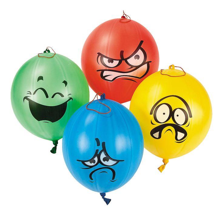Emotional Punch Balls Orientaltrading Com Sports Games