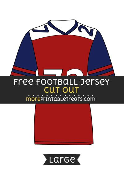 Free Football Jersey Cut Out