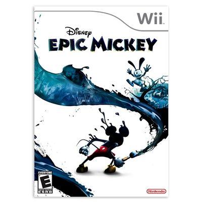 Game Edição de Colecionador Epic Mickey WII Disney