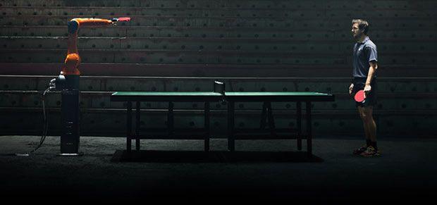 "Man v/s Robot Video: Tim Boll beats KUKA ""ping pong"" Robot"
