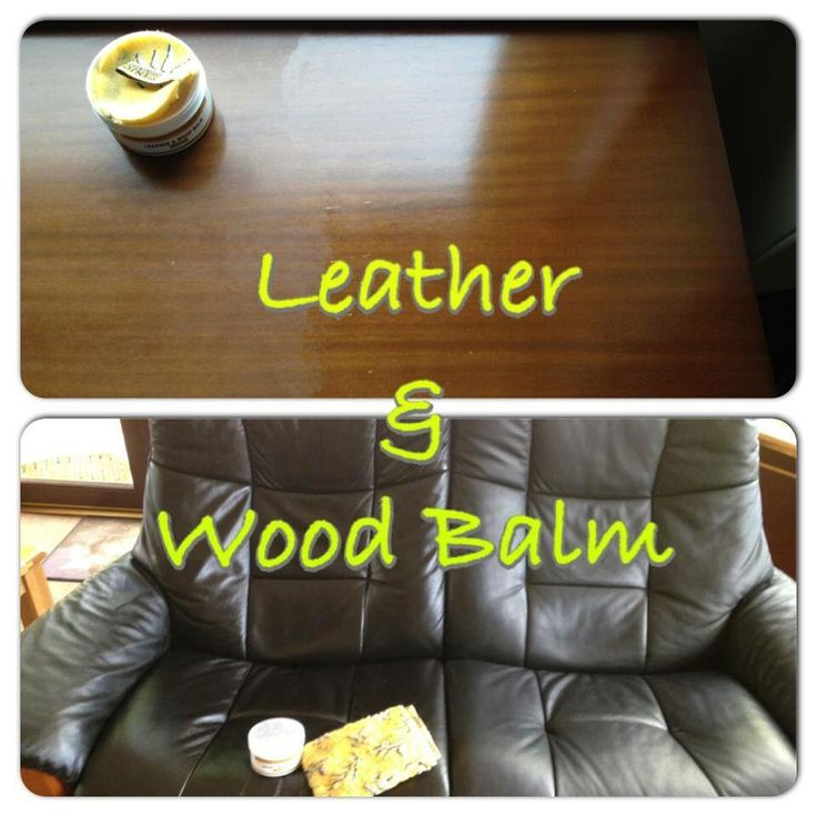 ENJO leather & wood balm