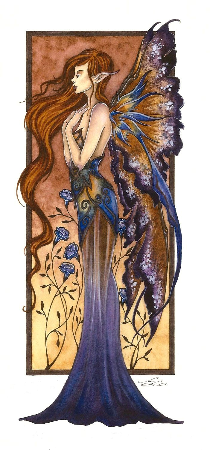 Fairy Art by Amy Brown - Fae 6                                                                                                                                                                                 More