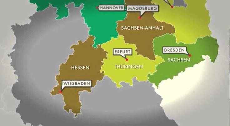 Schulfilm-DVD: Die 16 Bundesländer (DVD / Vorschau)