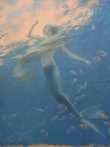 The Little Mermaid' by Hans Christian Anderson Illustrated by Christian Birmingham