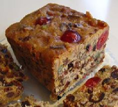 Christmas Fruit Cake. One good thing about the holidays is fruit cake!!