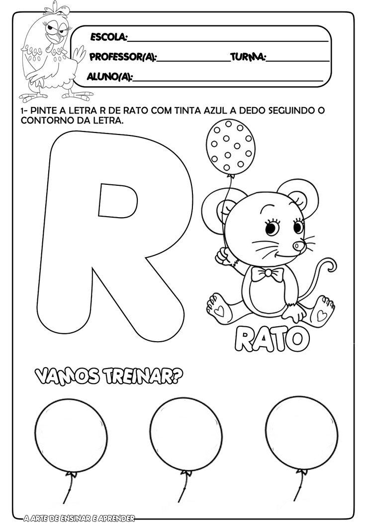Atividade pronta letra R