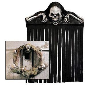 Halloween Skeleton Door | Halloween | Pinterest