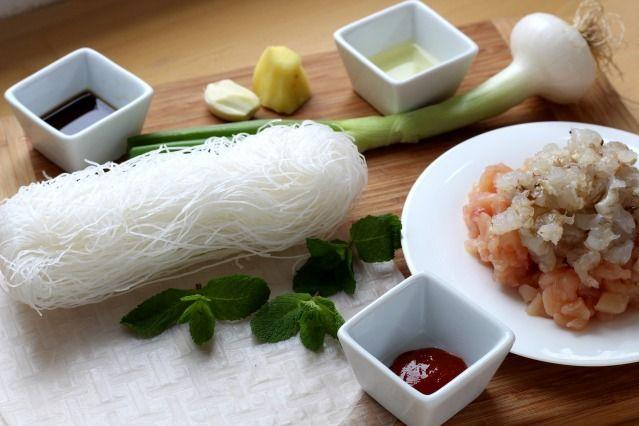 Comment faire des nems poulet crevettes diaporama 750 for 750grammes com fiche de cuisine