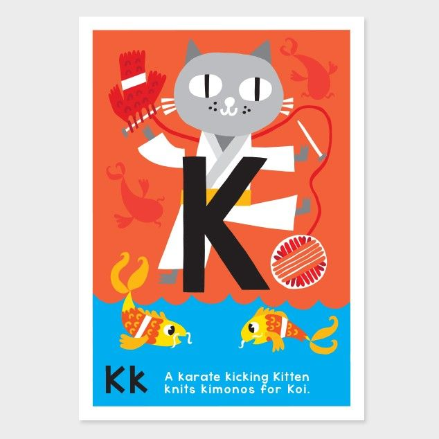 k kids art print by kissy kissy kids see http - Kid Prints