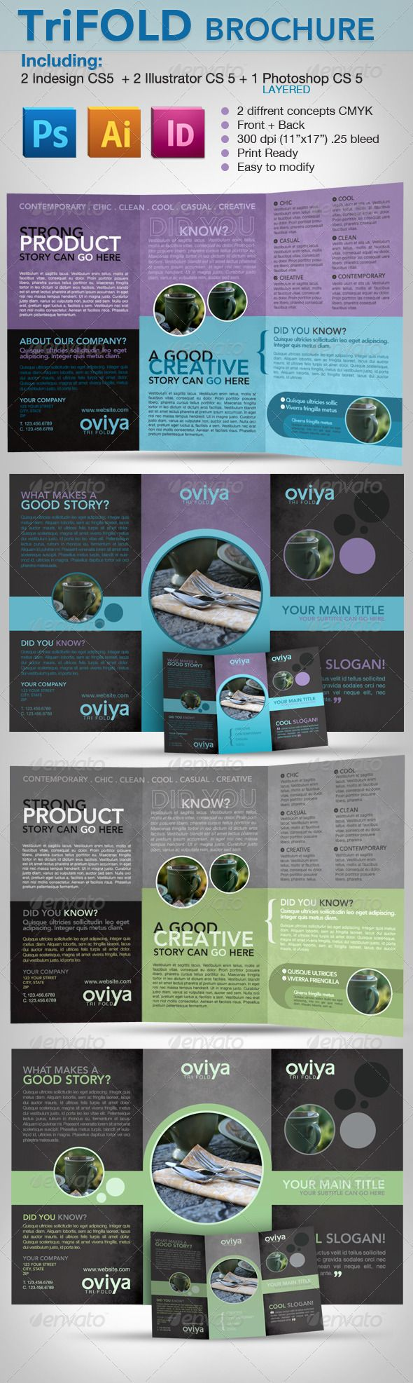 indesign brochure template - 9 best images about photoshop graphics on pinterest ux