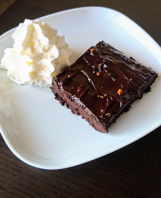 Kuchenne potyczki Alergiczki: Obłednie czekoladowe brownie - bez glutenu, bez ja...