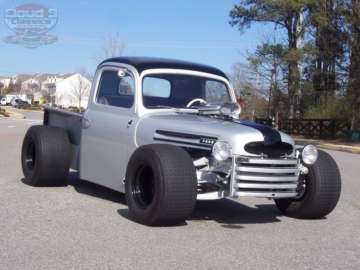 Custom 1950 Ford F-1 Hot Rod