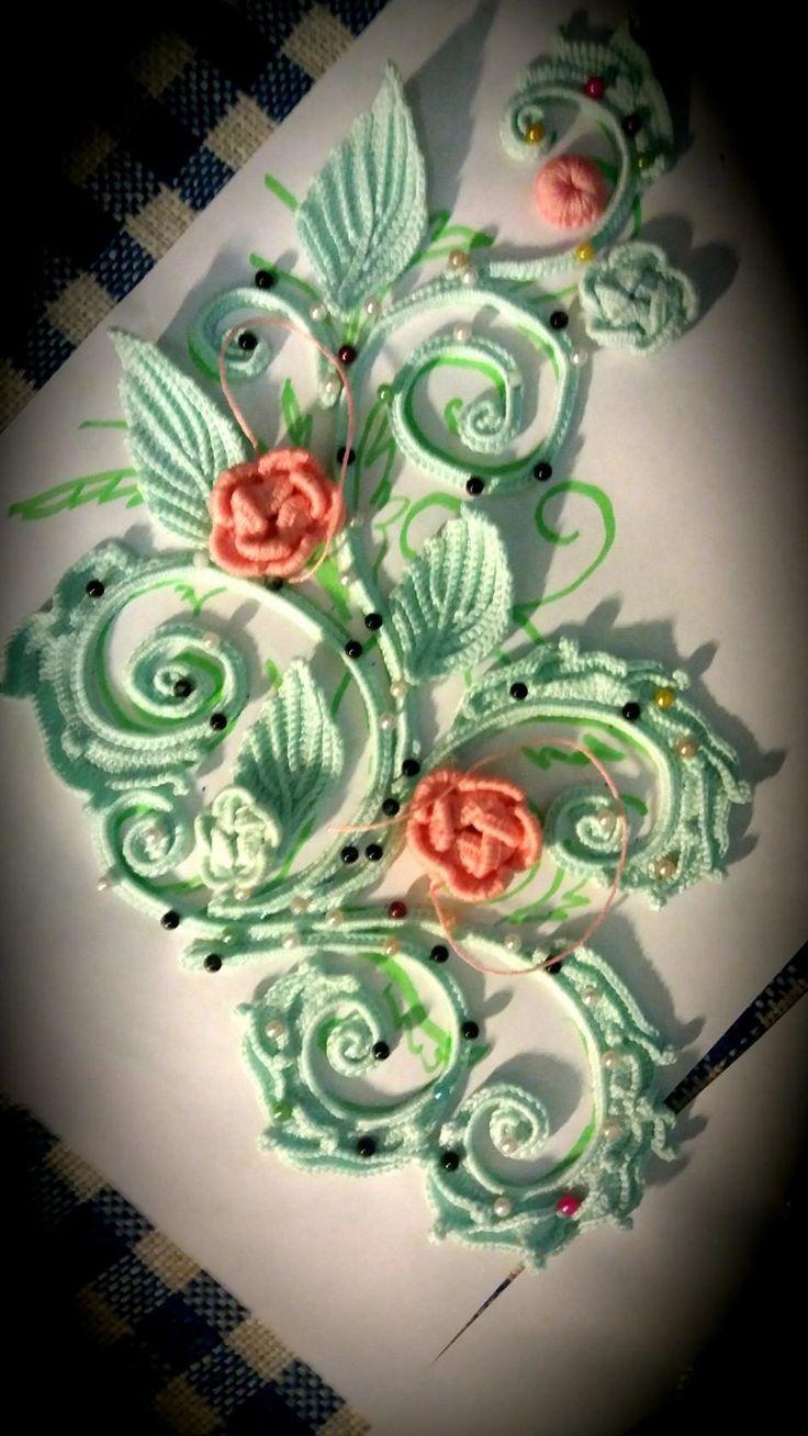 Oh how I love ❤️ beautiful & dainty thread crochet!