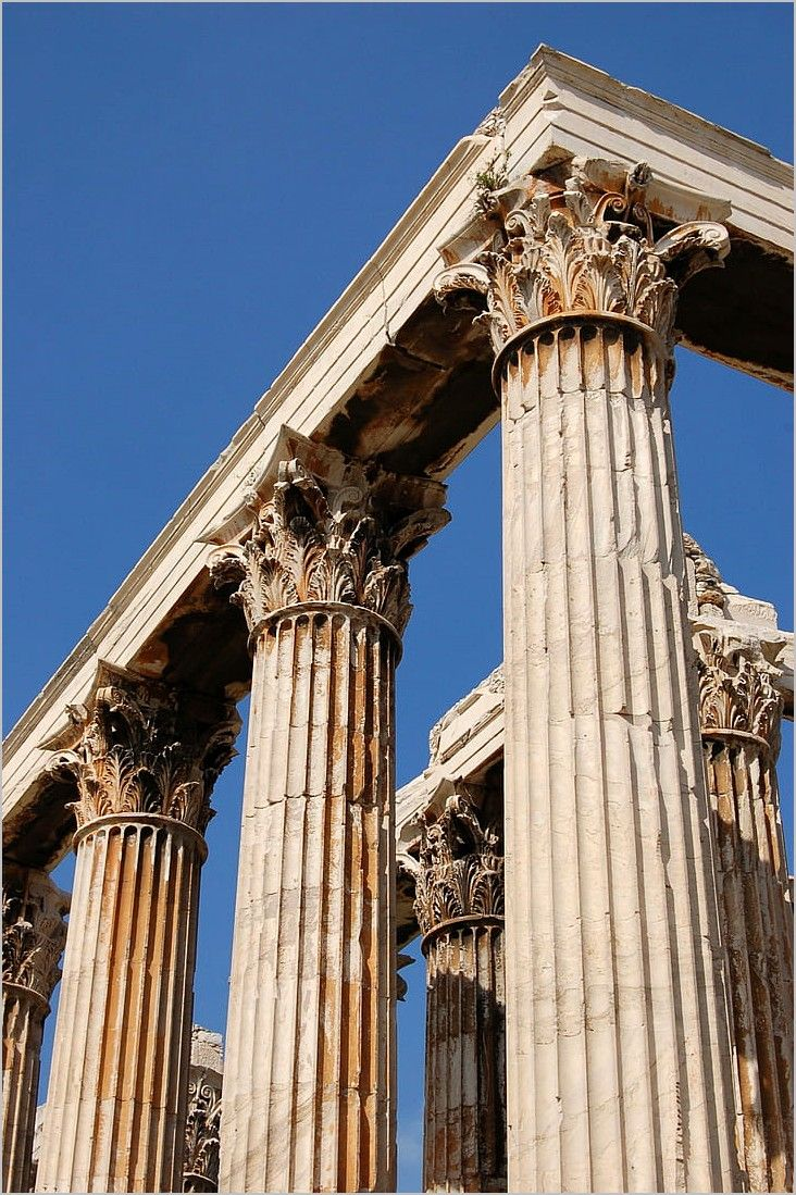 Ancient Greece 4k Wallpaper Ancient Greek Theatre Ancient Greek Architecture Greece Architecture