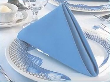 A Simple And Quick Napkin Folding Tutorial From Milliken Table Linens. Servietten  FaltenTischdeckenServietten