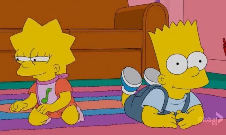 The Simpsons Baby Lisa  Bart  Simpsons  Bart Simpson -3384