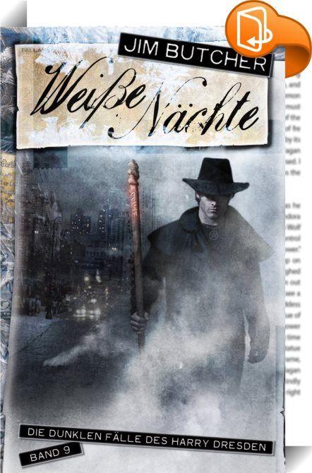 Harry Dresden 9 - Weiße Nächte    :  Jemand hat es auf die Magiekundigen Chicagos abgesehen, und zwar auf die Mitglieder der übernatürlichen Unterschicht, die nicht mächtig genug sind, um zu echten Magiern zu werden. Manche sind verschwunden, andere scheinen sich umgebracht zu haben. Doch dann hinterlässt der Schuldige seine Visitenkarte an einem der Tatorte - als Gruß an Harry Dresden. Harry macht sich auf, den Mörder zu finden, aber seine Nachforschungen fördern Beweise gegen einen V...