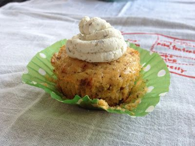 Savory Cupcakes - Fig, Goat Cheese, And Onion Recipe — Dishmaps