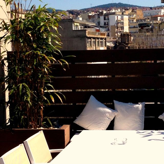 Enjoy relaxing moments at Secret Terrace Lounge at Anatolia Hotel Thessaloniki !!!