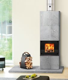 The injector heat storage brings thermal efficiency to light fireplaces. NunnaUuni.