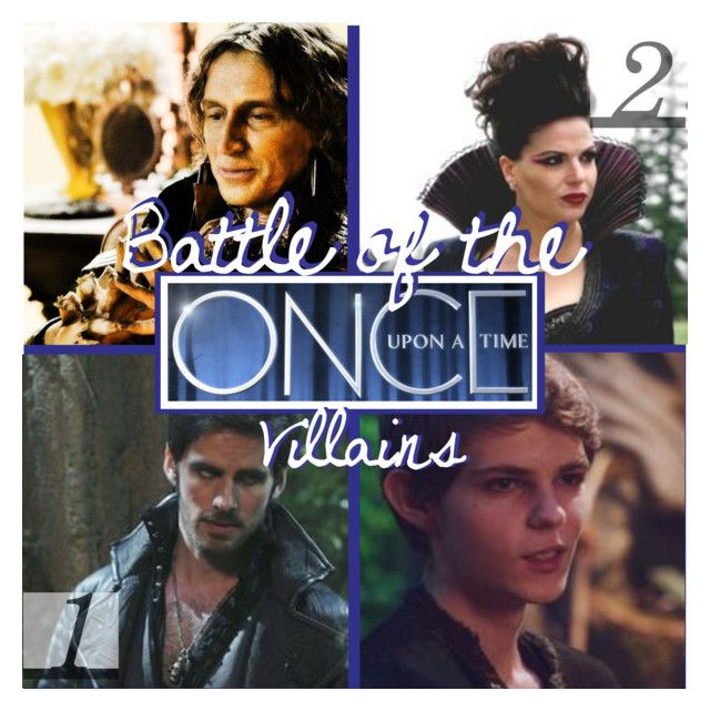 """Battle of the OUAT Villains - Audition"" by seliahna on Polyvore featuring art"