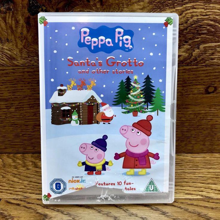 Peppa Pig Santa's Grotto Dvd 2010 Kids Fun Family Xmas Dvd 10 new piggy tales