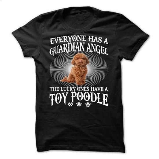 My Toy Poodle Is a Guardian Angel - #cool t shirts #kids hoodies. ORDER HERE => https://www.sunfrog.com/Names/My-Toy-Poodle-Is-a-Guardian-Angel.html?60505