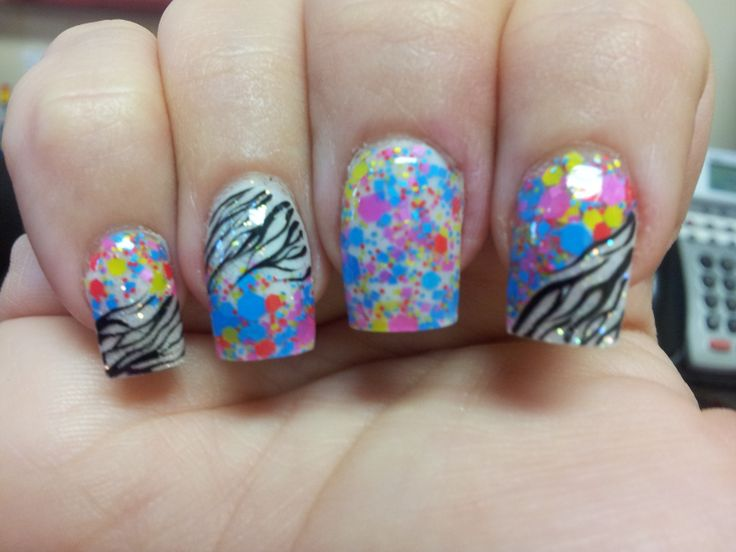 77 best my nails profiles on del prado in cape coral fl images confetti nail art prinsesfo Images