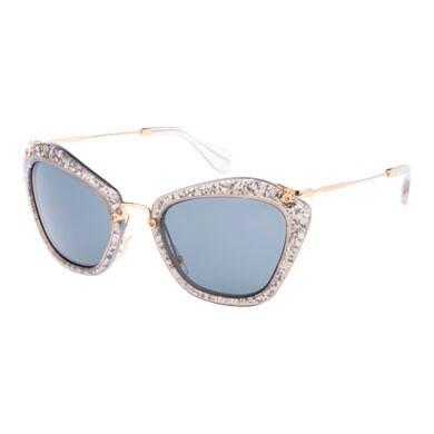 8d0deb6c9a6 Miu Miu Sunglasses Round Glitter