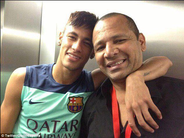 Neymar and Neymar Jr.