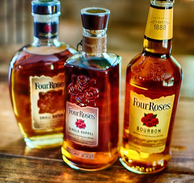 Four Roses Bourbons - i have had all 3 of their offerings its a favorite of mine.