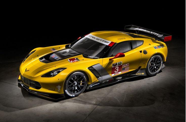 2014 Corvette C7.R Debuts In Detroit Ahead Of Daytona 24 Hours