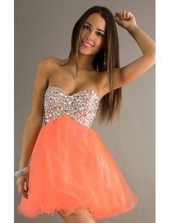 Kleid perlen thun