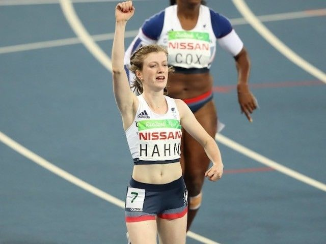 "Sophie Hahn ""delighted"" with Paralympic gold"