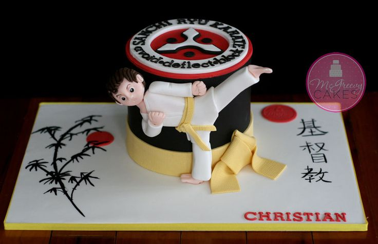 1000 Images About Karate Cakes On Pinterest Karate Cake